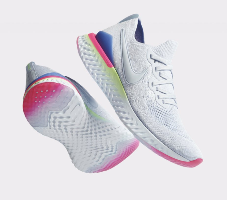 72458515521 Ad  NEW Nike Epic React Flyknit 2  Hydrogen Blue  dropped today Mens http   bit.ly 2FESaIw  Womens http   bit.ly 2Dhrdt3 Kids http   bit.ly 2FKkVUv Exclusive ...