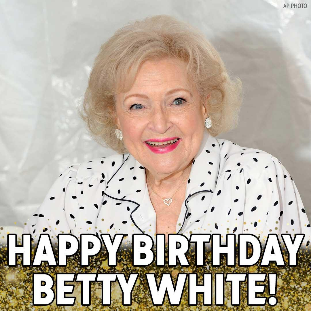 Happy 97th Birthday to Emmy-winning actress @BettyMWhite! #HappyBirthdayBettyWhite   Here's some advice the Golden Girl has given for living a long and happy life. https://t.co/nr4QdcfYEq
