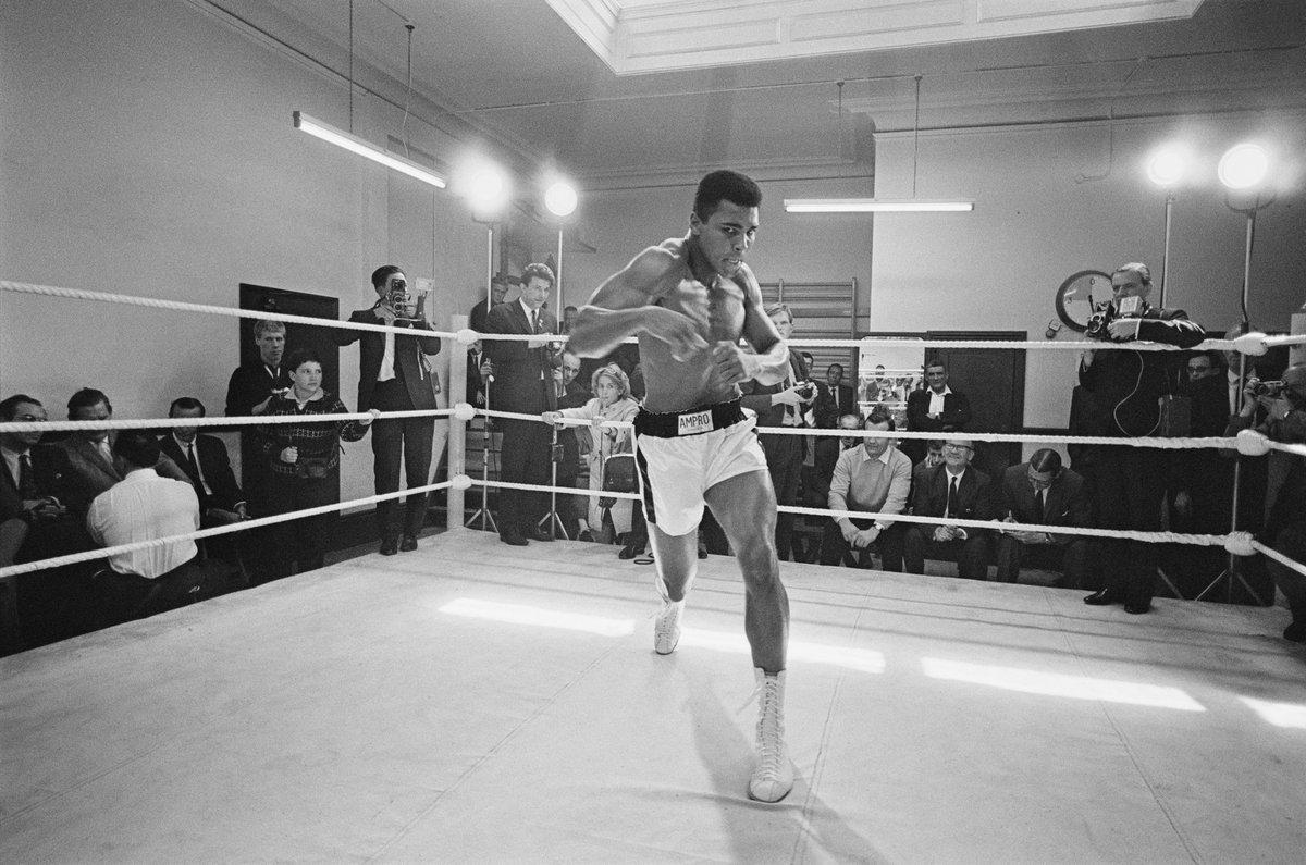 Today would have been the 77th birthday of the Olympic champion 🥇@MuhammadAli❤️ #HappyBirthdayAli
