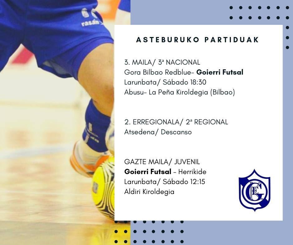 [EUS] Areto futbola gustuko? [CAS] ¿Te gusta el futbol sala? Pues tenemos un plan para ti #kirola #goierri #futbol #deporte #urretxu