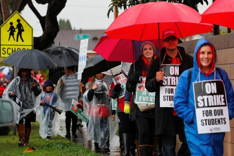 Talks to resume as Los Angeles teachers' strike enters fourth day https://reut.rs/2TVd2iz