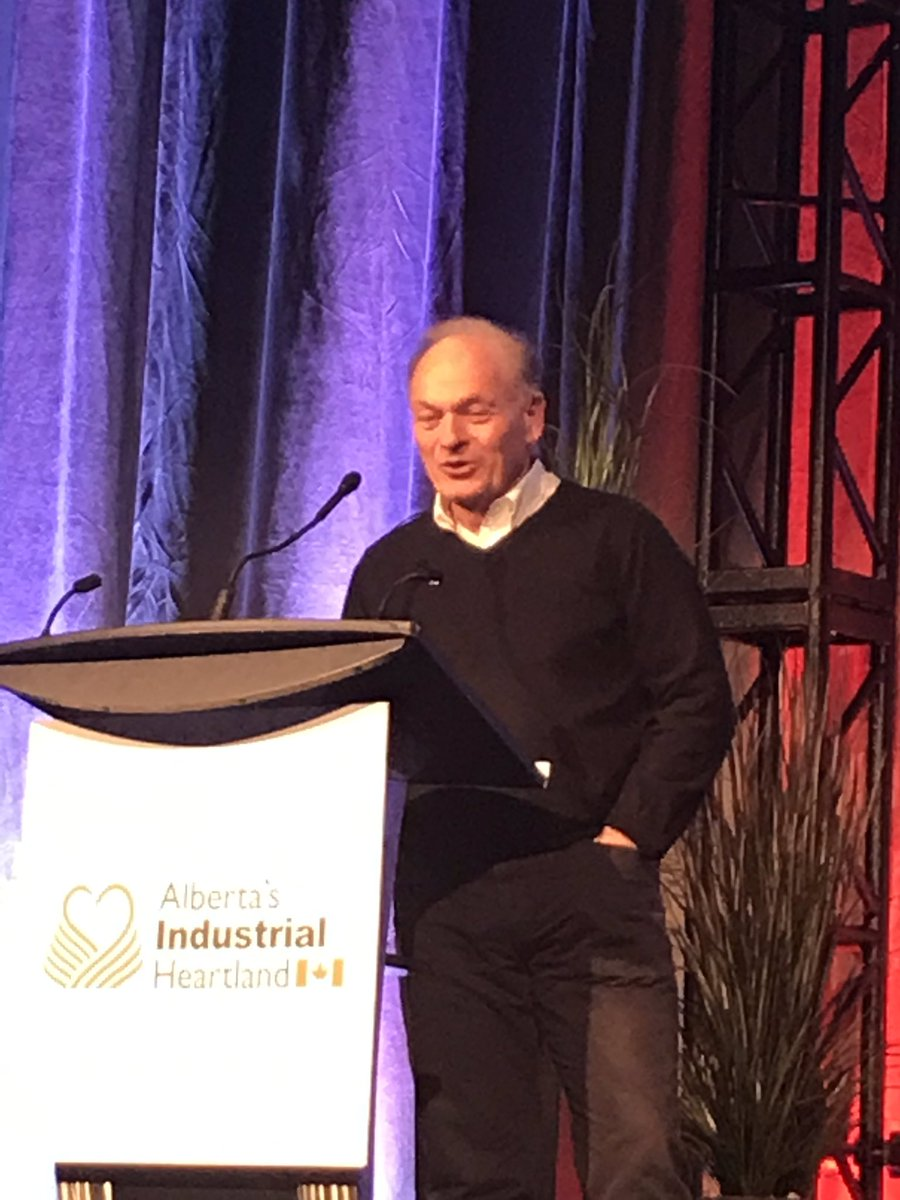 """You have to admire Ian MacGregor from @NWRefiningInc for his quote.  """"Yes, wages might be higher in AB, and yes it be cheaper in China but I don't care"""" .Building Northwest Refinery is ensuring Alberta has a future.   We are the Heart of Opportunity in @ABheartland"""