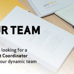 Image for the Tweet beginning: We're hiring: Project Coordinator based