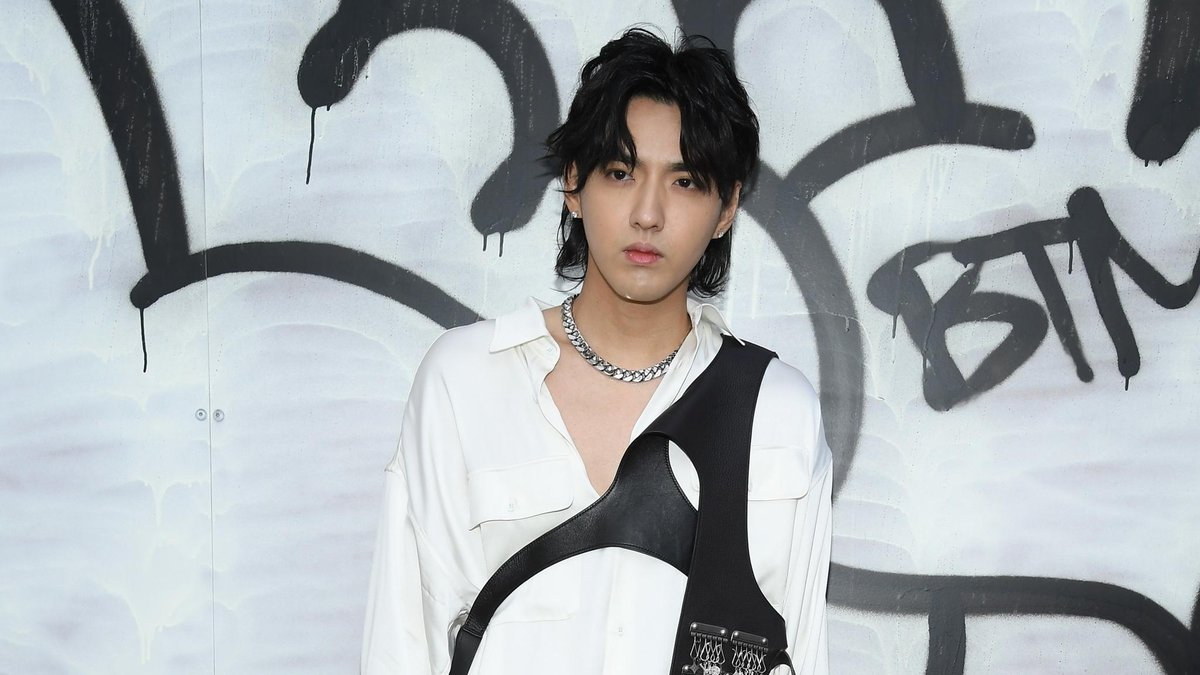 First Timothée Chalamet, now @KrisWu is rocking the harness. https://t.co/bFNqJ3ljGA
