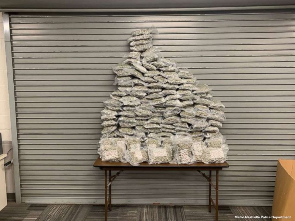 Pair arrested trying to smuggle 159 pounds of marijuana in 4 suitcases through Nashville airport, police say. https://t.co/lYp6A6ph8I