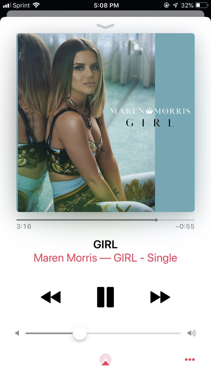 Omg this song is so good @MarenMorris! Thanks for tweeting about it @yasminhaydi! 💃🏻💕