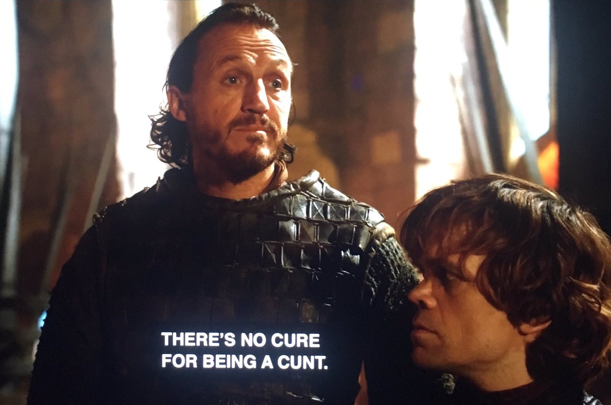 Just paused Game Of Thrones S2 to appreciate these words of wisdom from Bronn. <br>http://pic.twitter.com/HkWUt5ckXW