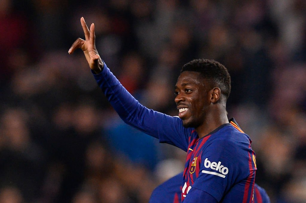 Ousmane Dembele has this season scored in:  ⚽️ La Liga ⚽️ Champions League ⚽️ Super Cup ⚽️ Copa Del Rey 🆕  The only Barca player to do so in 2018-19.