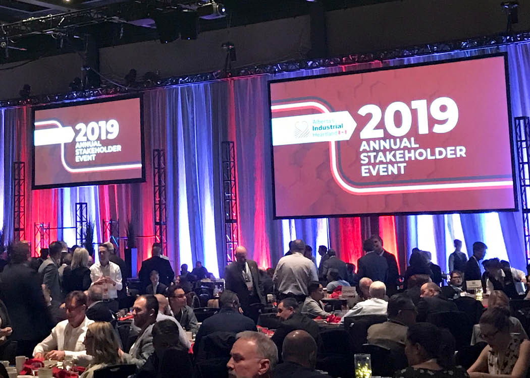 Diversified is proud to be supporting projects in the Heartland for over 50 years. Having a great time attending @ABheartland Annual Stakeholder Event in Edmonton today.  #ABHeartland #Investment #ABEnergy #PetroChemicals #ABenergy