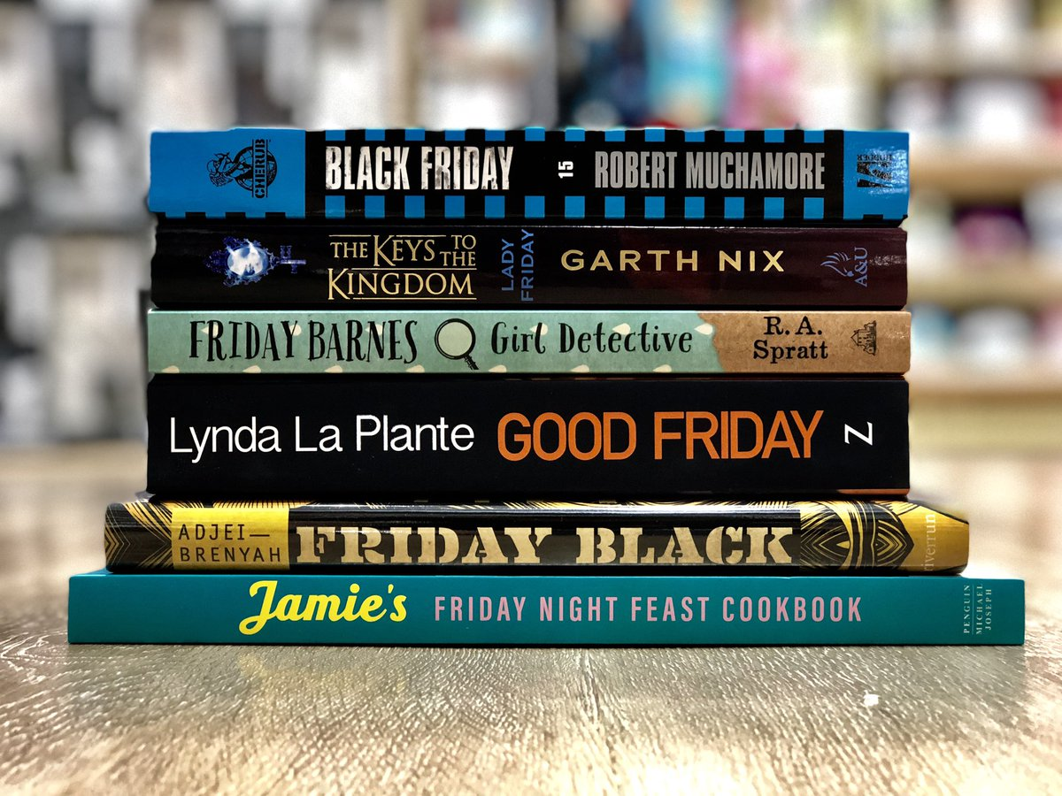 What&#39;s in a name you ask? Friday. Friday&#39;s in a name. Well... at least that&#39;s the case with our favourite #FridayReads!  . . #GottaGetDownonFriday #TGIF #FridayFeels #BringOnTheWeekend<br>http://pic.twitter.com/4pluR5oKlD &ndash; à Dymocks