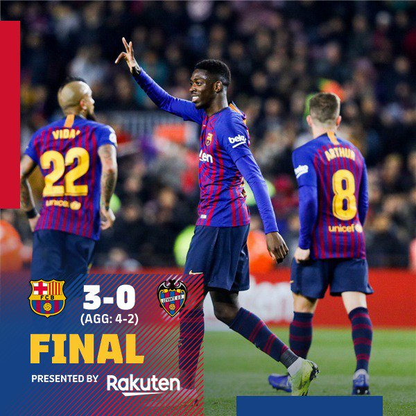 FC Barcelona's photo on Levante