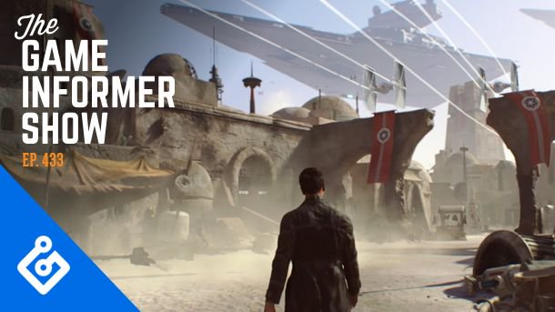 We try to unpack what is happening with EA and their Star Wars games this week on The Game Informer Show.  https://t.co/uoEqws6dOE