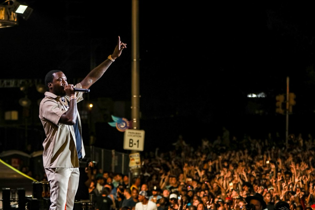 #TBT to @MeekMill holding down the stage at #MadeInAmerica 2018! 🇺🇸 #Championships 🏆 #MIAMoment