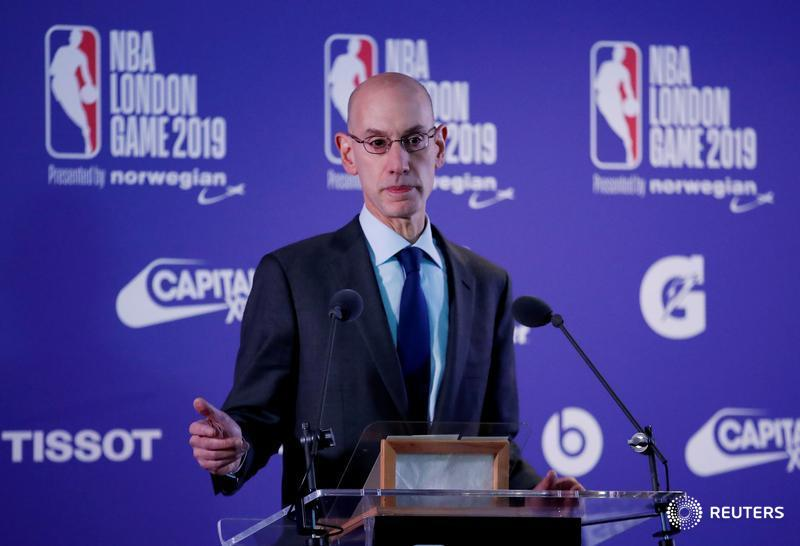 NBA chief Silver says takes threats to Kanter seriously https://reut.rs/2DhiiI0