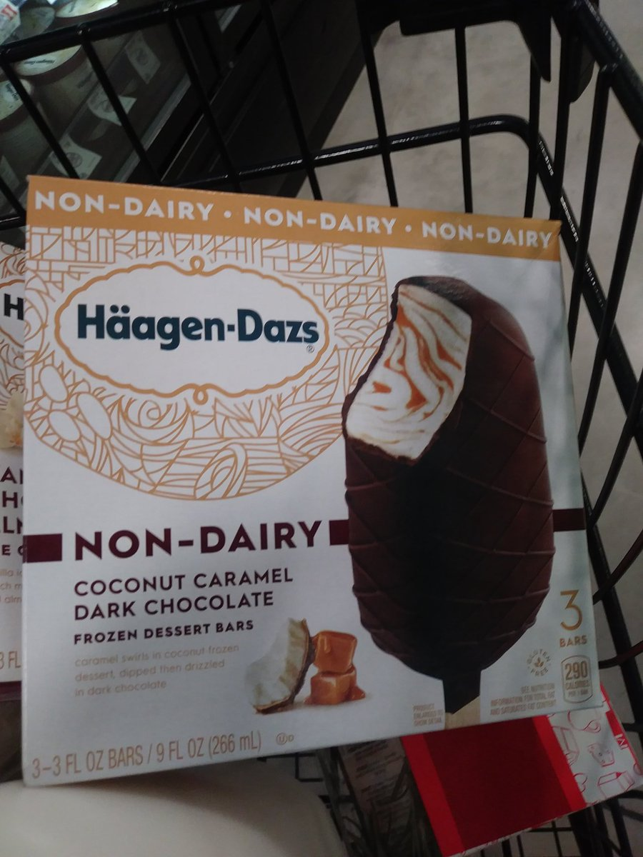 Wife just texted me this picture. Life is good. Thanks @HaagenDazs_US #DairyFree <br>http://pic.twitter.com/ZaBKSskxLC