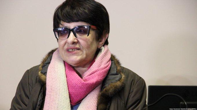 Львівський суд арештував депортовану з Росії проросійську активістку Олену Бойко ► Фото