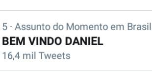 SU CE SSO  BEM VINDO DANIEL