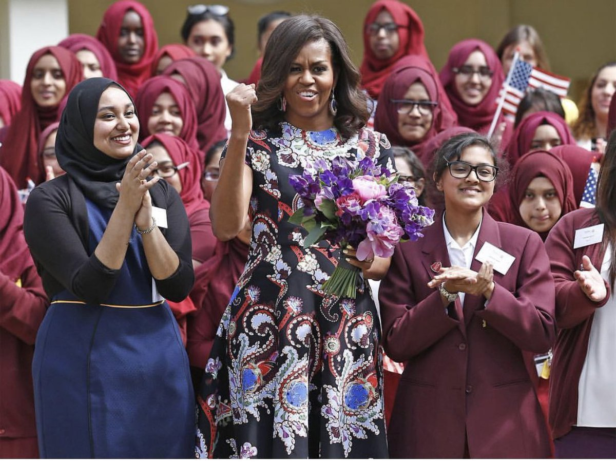 Happy Birthday to our #ForeverFirstLady @michelleobama. She's a wonderful example to women and girls everywhere that with hard work and dedication, anything is possible!!! <br>http://pic.twitter.com/wTgUjgZVCs