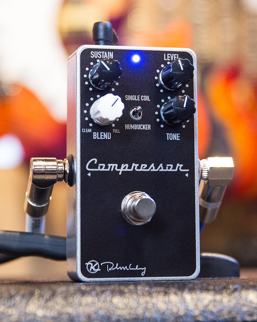 Looking to polish up your tone in the new year? Make your sustain sing with the @robertkeeley Compressor Plus - featuring the precision of a studio rack mount JFET compressor in a compact, portable pedal: https://t.co/f07Kc028yj