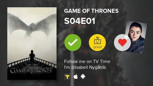 Game of Thrones s04e01 720p Eng