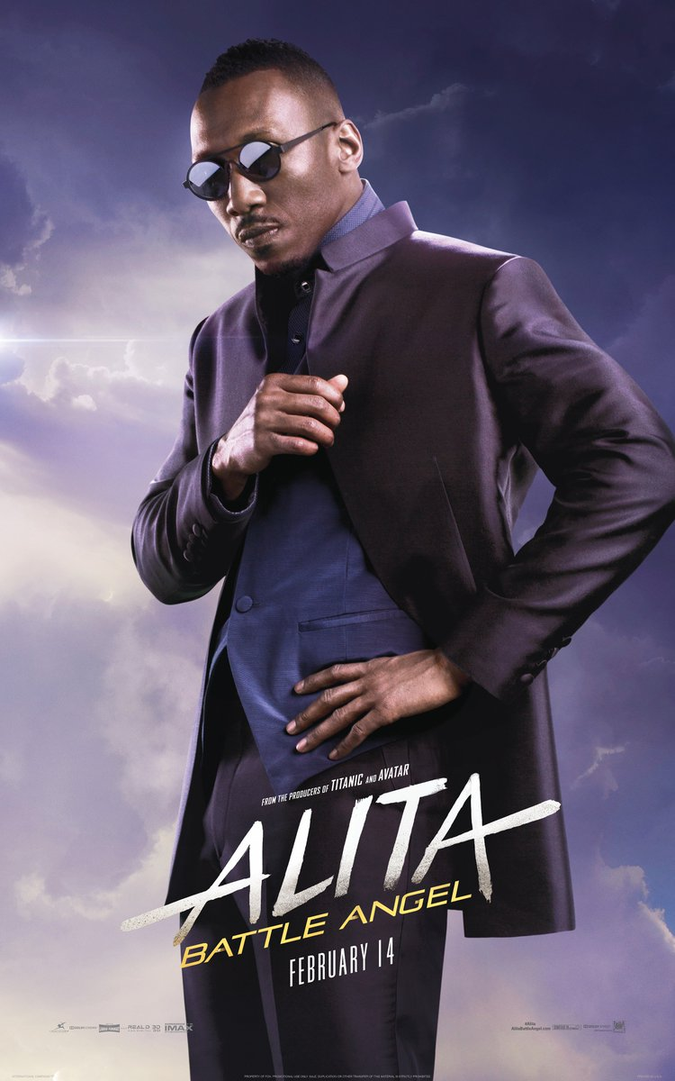 Mahershala Ali is Vector. He will stop at nothing to destroy Alita on February 14. #Alita<br>http://pic.twitter.com/NuF3V7pWPP