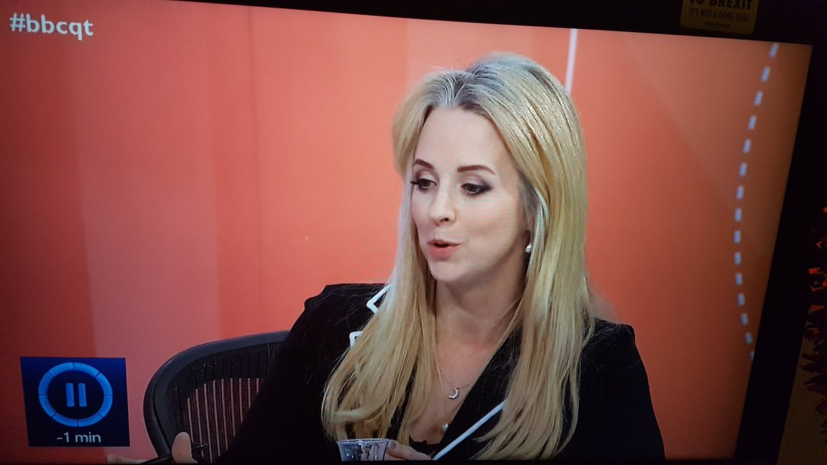 After queue jumper, I am now being told that I have been a disaster for the UK? How insulting this is. I came in 1988 when the country was losing inhabitants. Should i take my 2 boys born here back France too? What an evil thing to say @IsabelOakeshott #bbcqt <br>http://pic.twitter.com/7J8KiXaybk