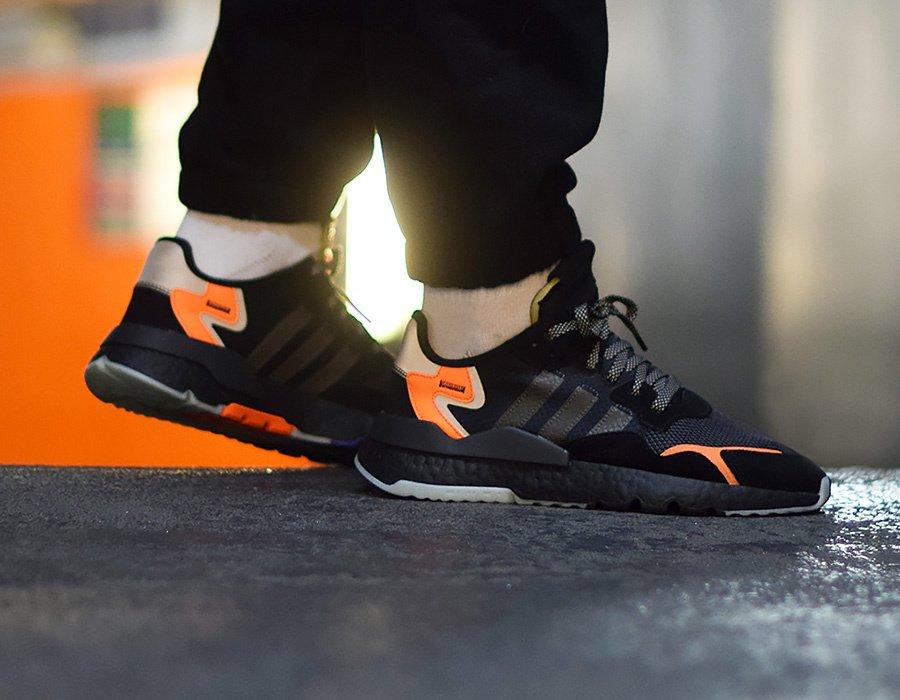 0f65480c6954e LIVE via SSENSE adidas Nite Jogger Boost  Black     https