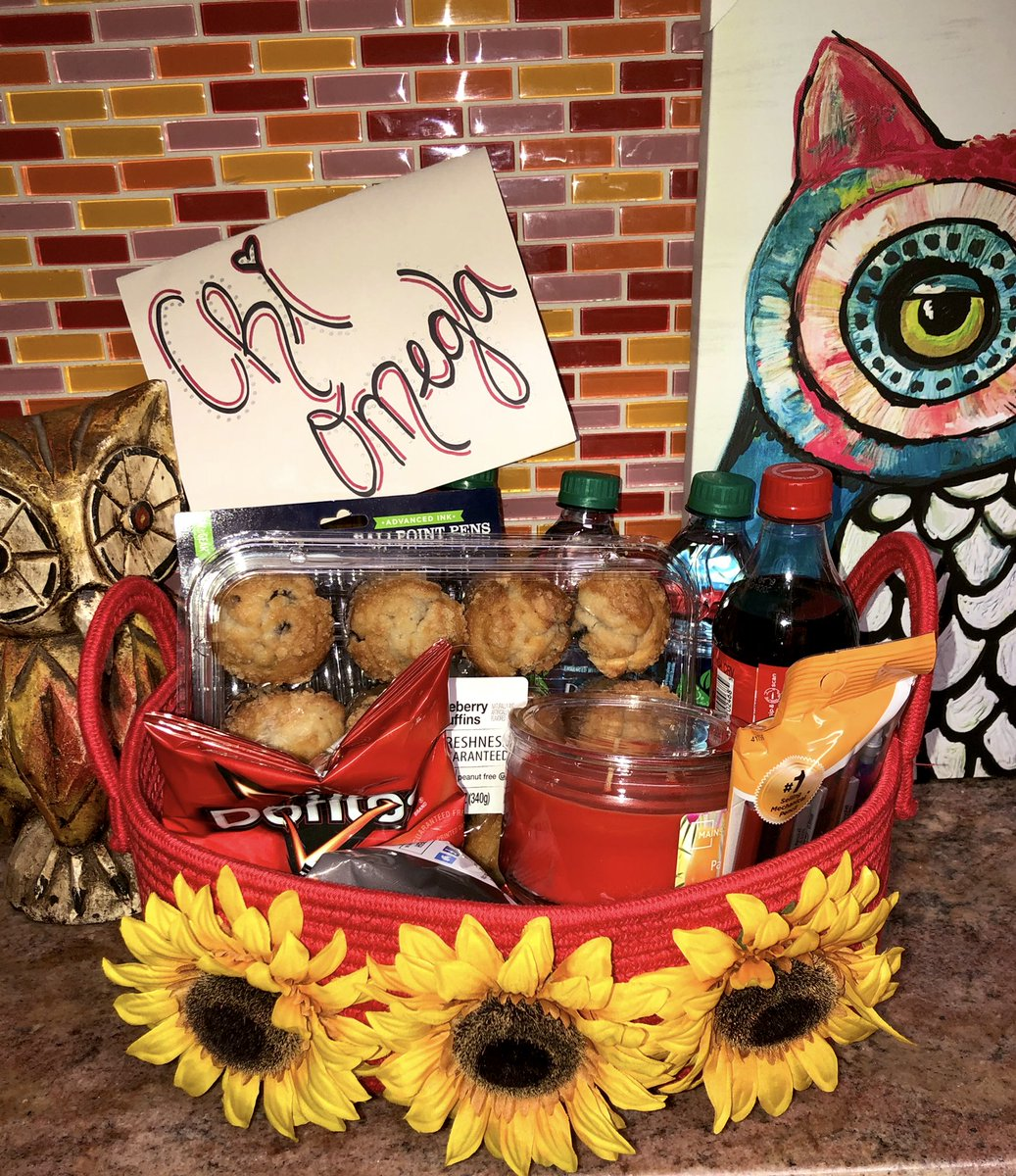 Shoutout to @MWSUTKE for brightening our first week with this awesome gift basket! <br>http://pic.twitter.com/KFD57vzIGk