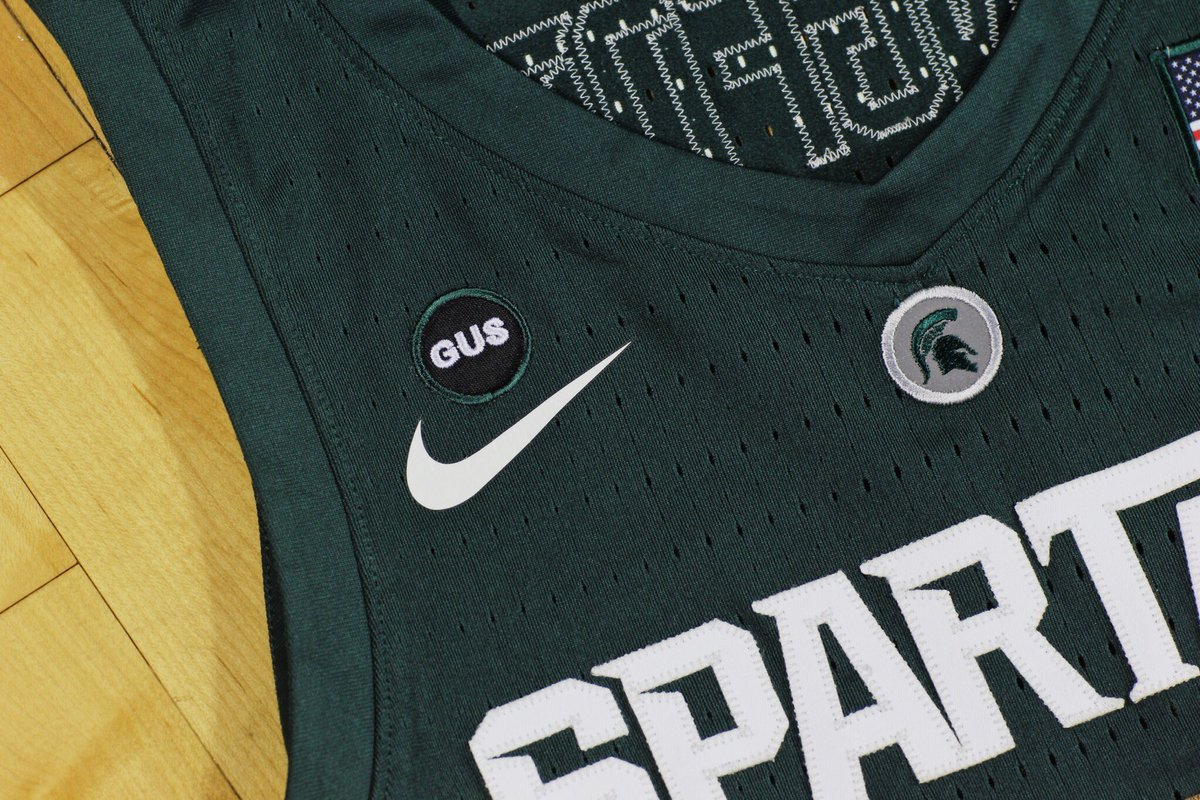 The story behind Spartans wearing Gus patch