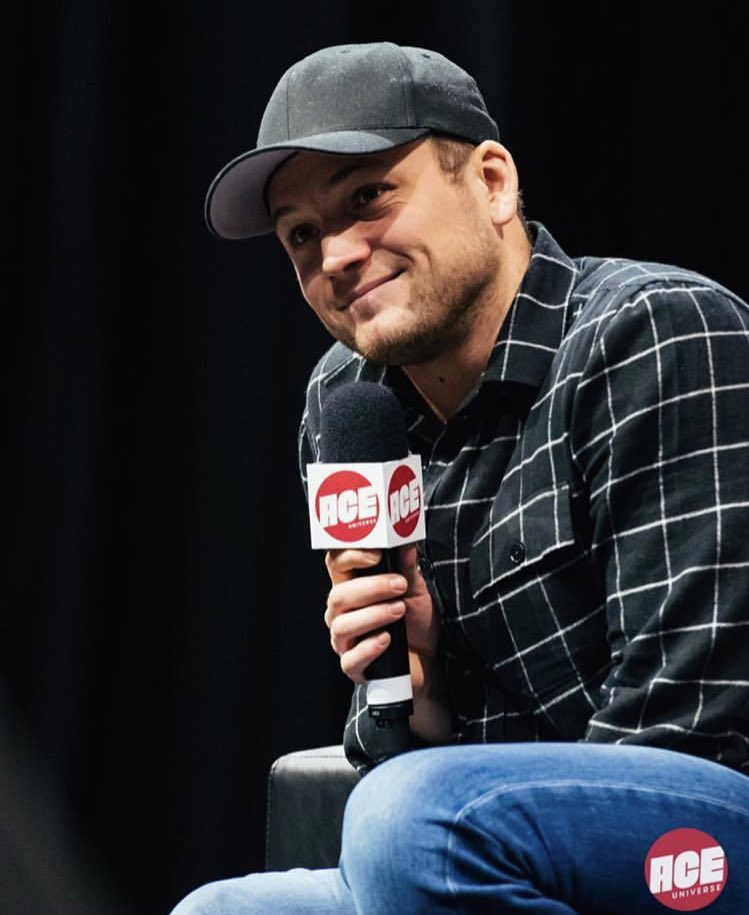 #NEW HQ photo of Taron during his panel at @ACEcomiccon Arizona this weekend (January 13, 2019) <br>http://pic.twitter.com/wBri793Upm