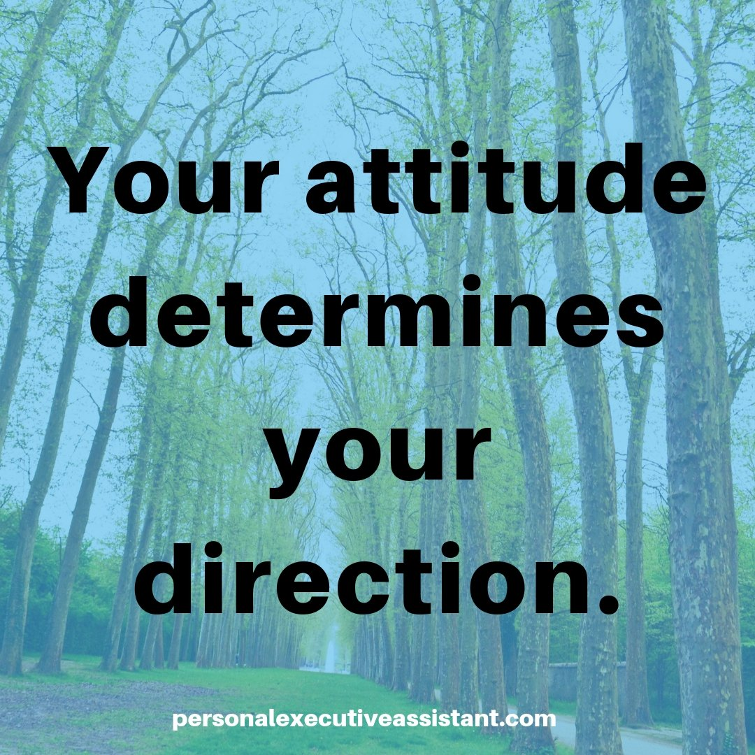 Your attitude determines your direction.  #success #quote #beyourownboss #bloggers #womenentrepreneurs<br>http://pic.twitter.com/2CqSgQlgn6