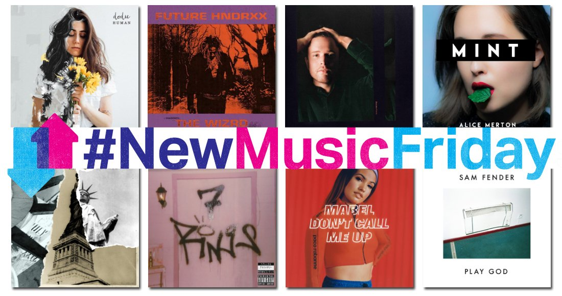 It's another jam-packed #NewMusicFriday! Read our list of this week's new releases: bit.ly/2ycMNfc