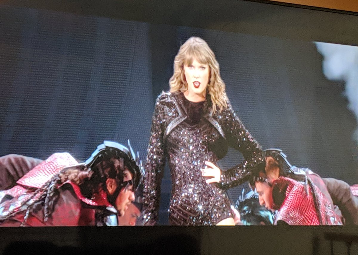 @taylornation13 I can't stop watching the rep tour on Netflix! #repTourNetflix