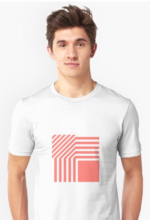 #New #design time again. This #asymmetric #pattern  in Pantone Living Coral (2019) is available now via @redbubble   http:// ow.ly/JYCQ30nmbfq  &nbsp;    #GraphicDesign #pantone #FelizViernes #BuenViernes #coloroftheyear #2019<br>http://pic.twitter.com/5FyAfH7UdQ