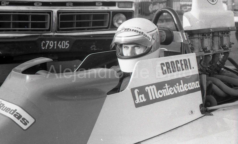 Fernando Croceri en el mitico Berta-Dodge Nª5 de M.A.F-2, Bs As 1982 @francroceri92
