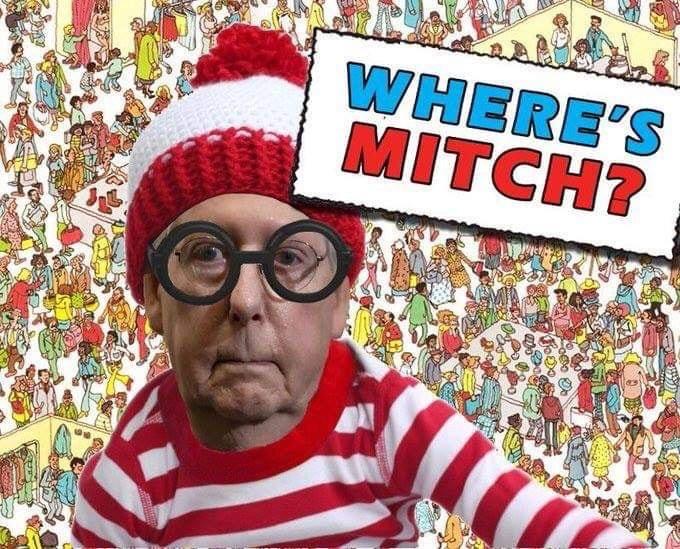 #WheresMitch #TrumpShutdown