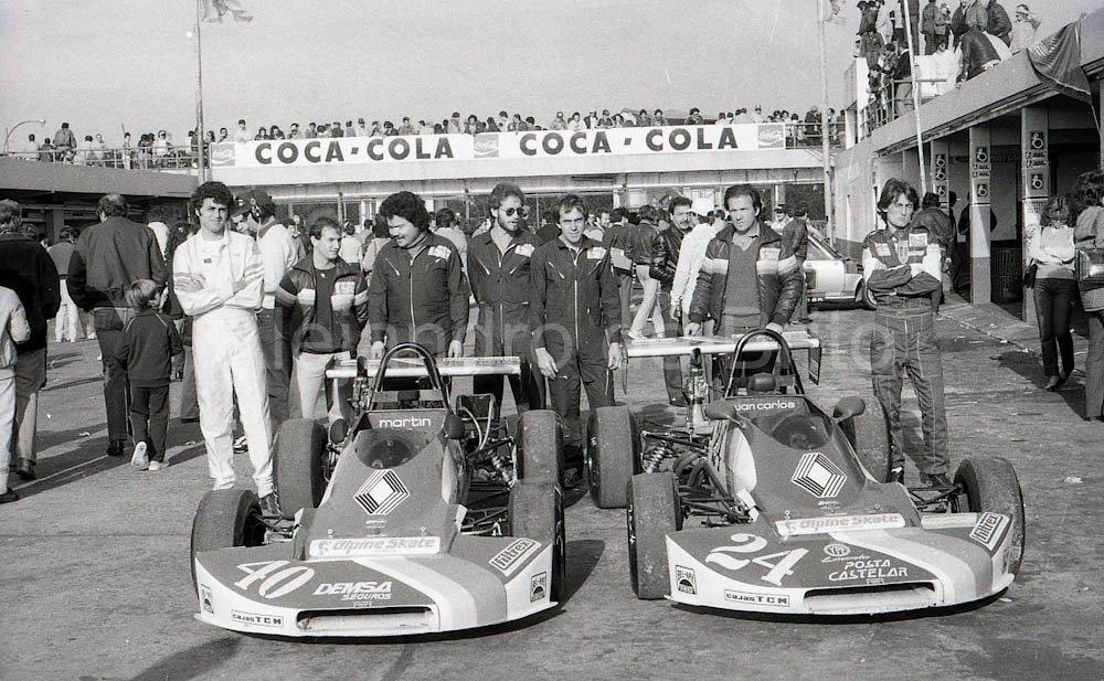 Formula Renault 1982, Team Crespi @luigiemi @chanicrespi