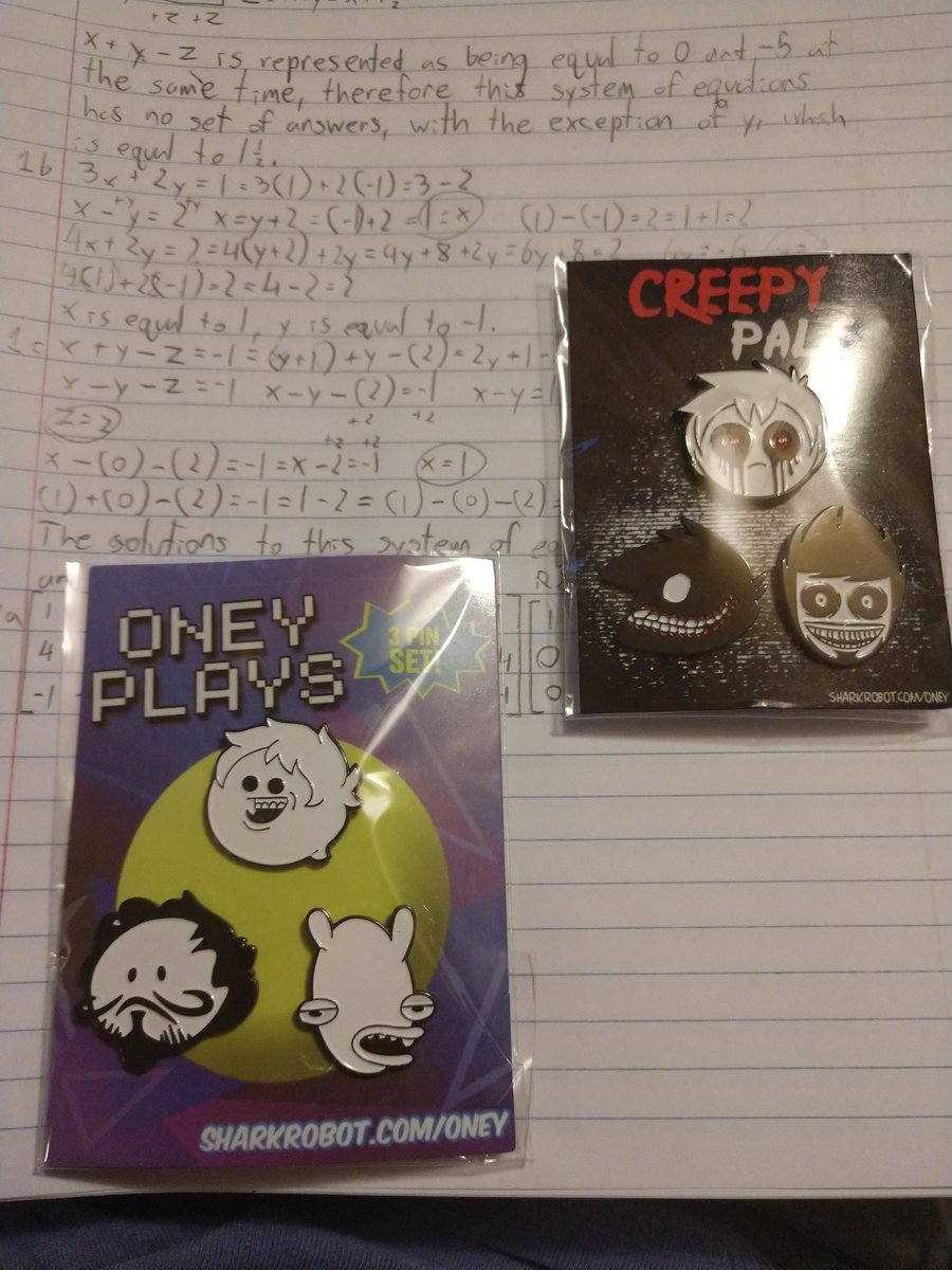 @OneyPlays got my funny (and spooky) boys in the mail today! <br>http://pic.twitter.com/EALCQltdAX