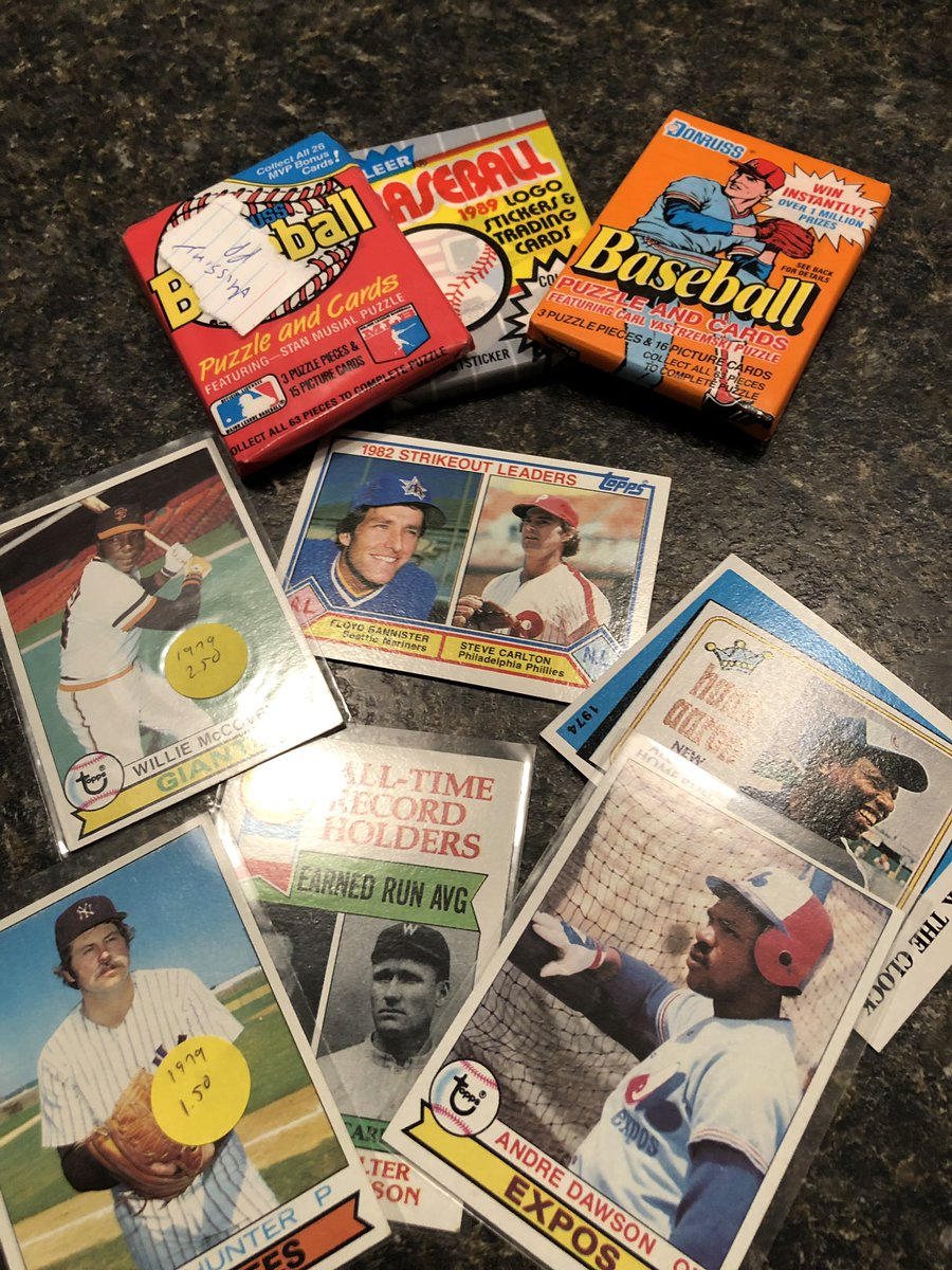 Thanks to @CardsFromAttic  for this fun prize pack.  Love the vintage cards. <br>http://pic.twitter.com/Y0nJC0GtjT