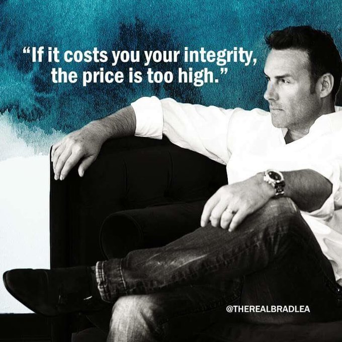 Integrity is choosing what's RIGHT over what is #FridayMotivation Photo