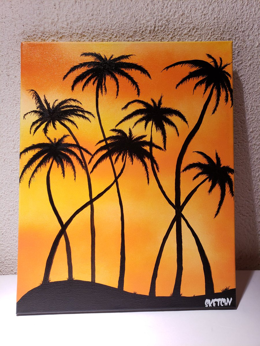 GIVEAWAY: RT TO ENTER   Original California Dreamin Painting. Acrylic on Canvas. Signed. $275 value. 250 retweets before giveaway is eligible. Tag someone for an extra name. Winner will be chosen Monday. #SKETCHY<br>http://pic.twitter.com/FT800V9Pgm