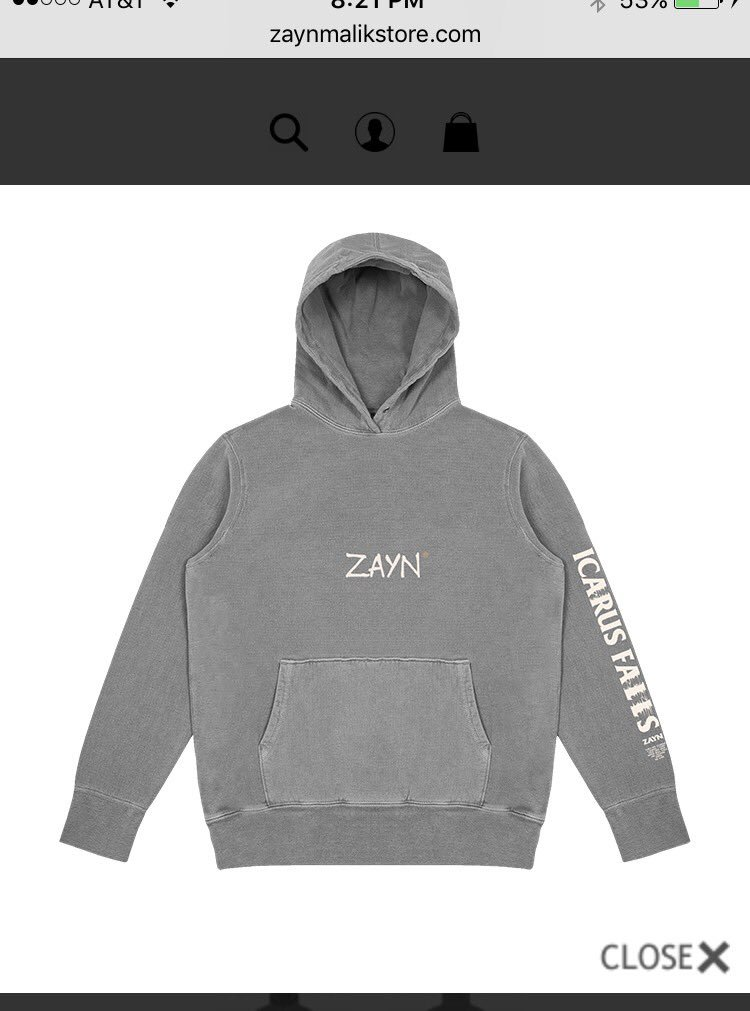 I WANT this hoodie!! Looks so comfy! @zaynmalik @inZAYN #ICARUSFALLS