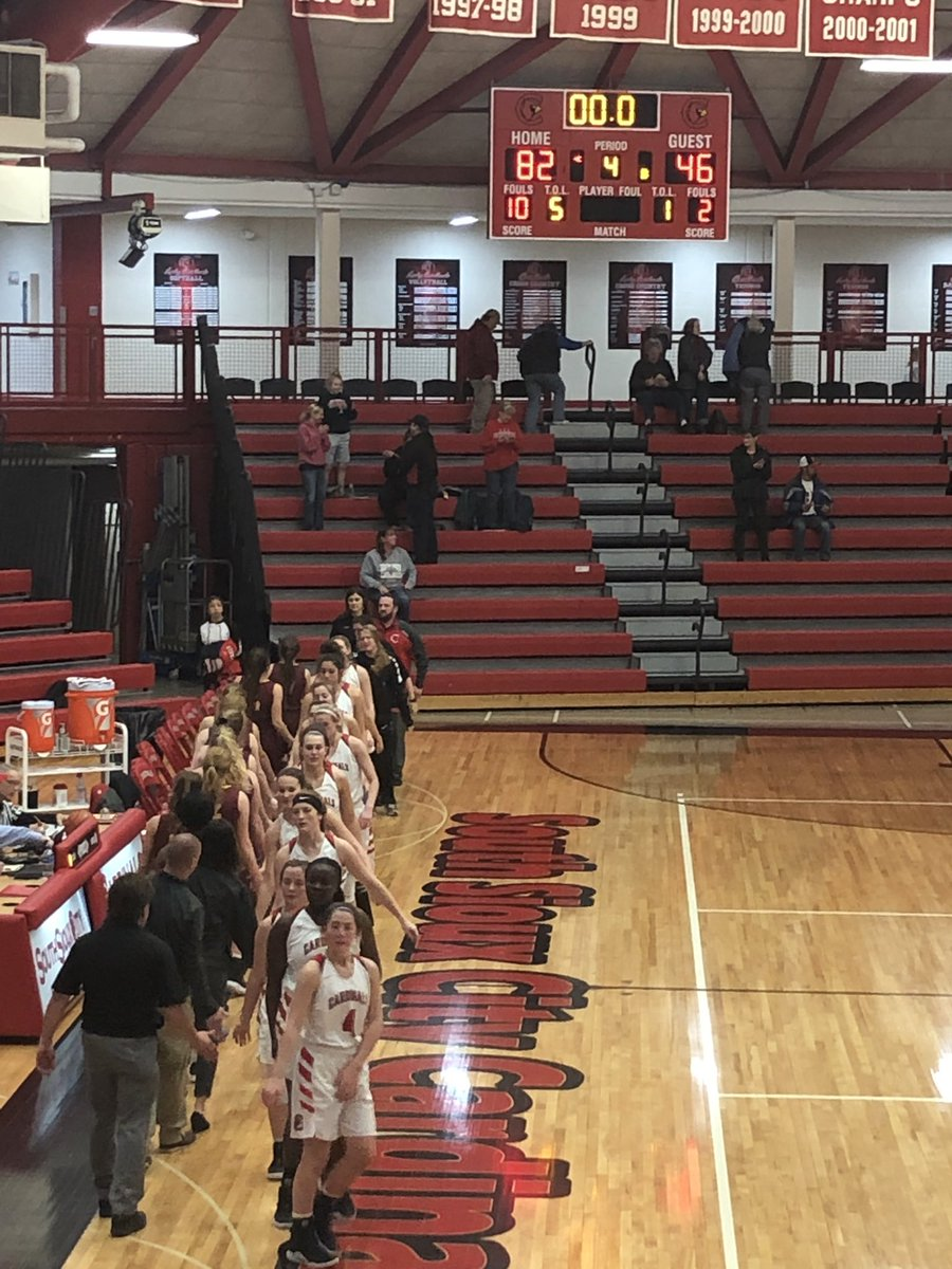 82-46 and Lady Cards advance to the RCC Championship at Skutt on Saturday. Skutt beats Gross 61-31.  Go Cards! <br>http://pic.twitter.com/SR4emCCfOb