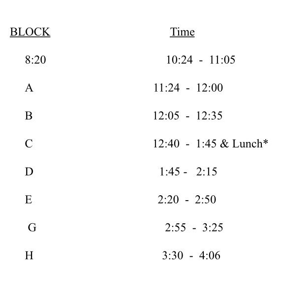 A 2 hour delay tomorrow means we will start A block at 11:24. Buses will run +/- 2 hours later than normal. Please be patient as 🚌 <a target='_blank' href='http://twitter.com/APSSchoolBus'>@APSSchoolBus</a> drivers safely run their routes. <a target='_blank' href='http://search.twitter.com/search?q=verbumsapsat'><a target='_blank' href='https://twitter.com/hashtag/verbumsapsat?src=hash'>#verbumsapsat</a></a> <a target='_blank' href='http://search.twitter.com/search?q=lovehb'><a target='_blank' href='https://twitter.com/hashtag/lovehb?src=hash'>#lovehb</a></a> <a target='_blank' href='http://twitter.com/APSVirginia'>@APSVirginia</a> <a target='_blank' href='https://t.co/ArX6TsYx45'>https://t.co/ArX6TsYx45</a>