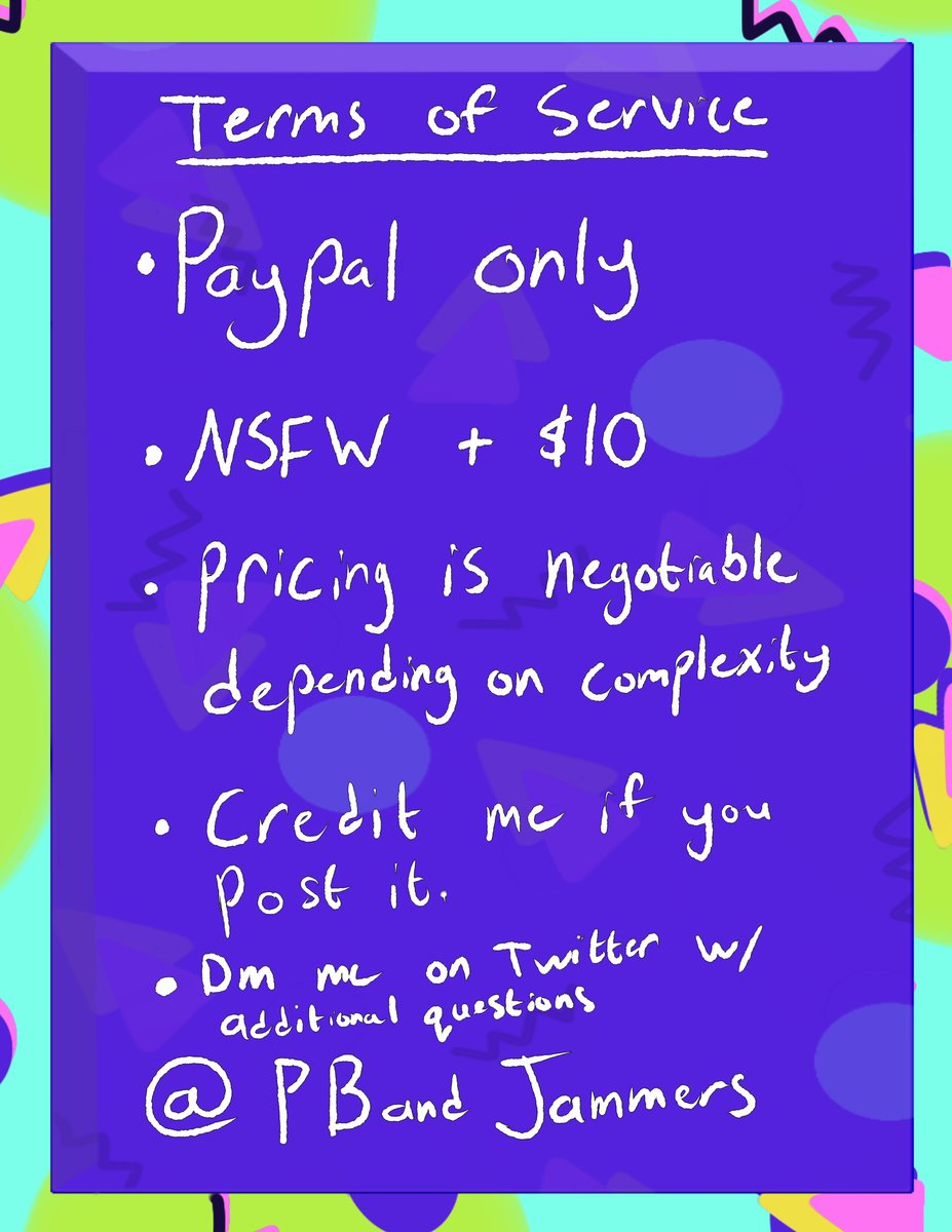Hey Twitter, it&#39;s ya boi, opening commissions. Retweets are appreciated. <br>http://pic.twitter.com/EPCeoSuXqG