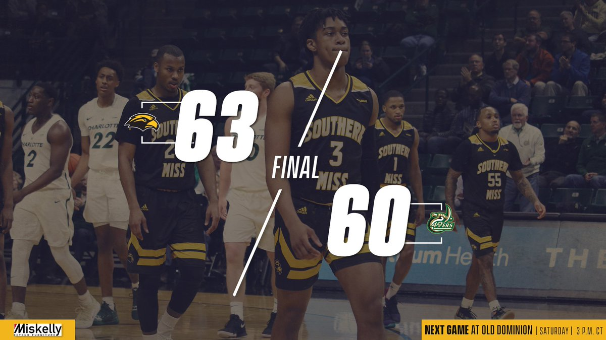 Very clutch win... *pause* ... ON THE ROAD!   Third-straight for the Golden Eagles. Trailed by 9 in the second half and found a way. #SMTTT<br>http://pic.twitter.com/vuNZIjSxSY