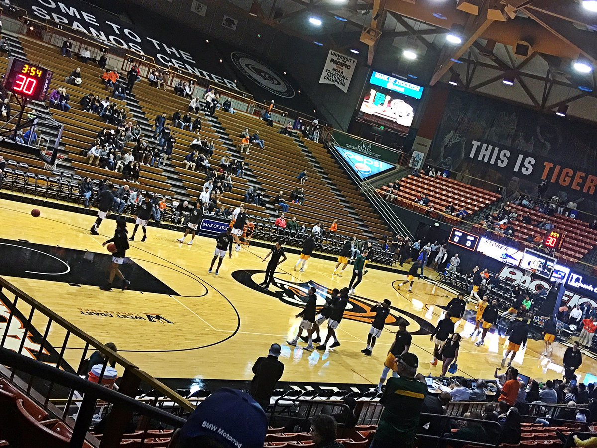 Finna sweat this SF Dons vs. UOP Tigers game #PacificTigers #SFDons #GoDons