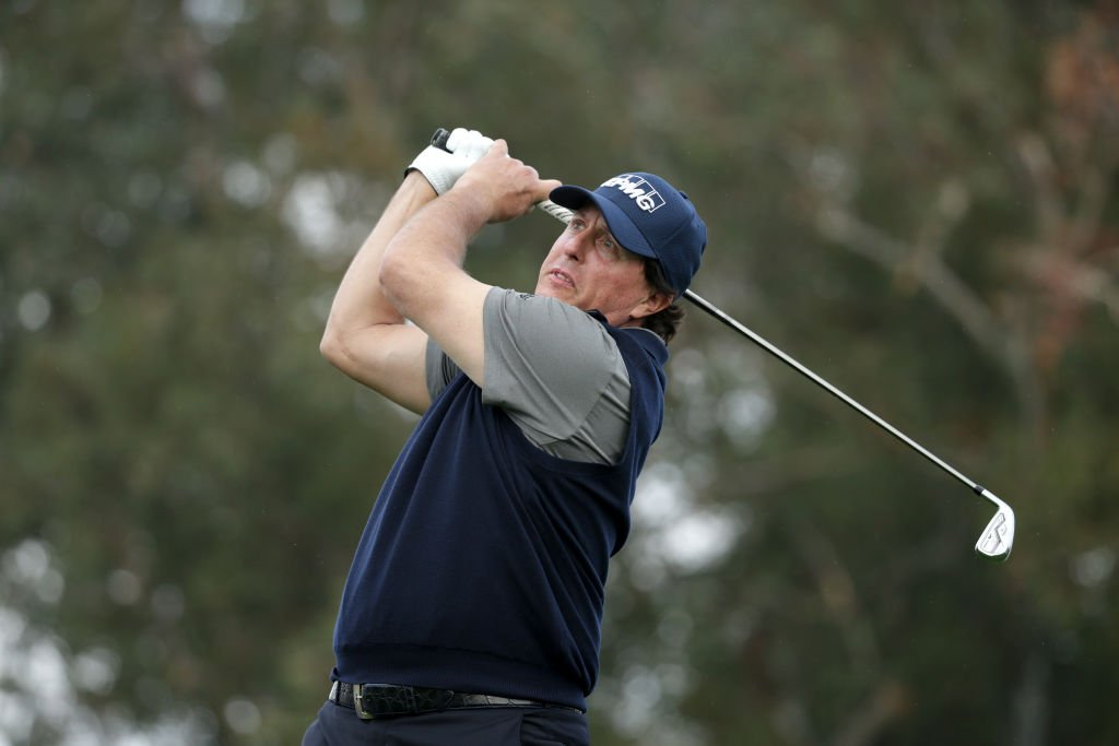 Phil Mickelson is the first player with three scores of 60 or better in PGA TOUR history.