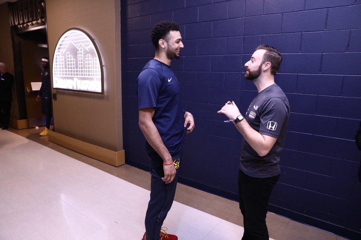 🇨🇦 Canadian Connection 🇨🇦  James Hinchcliffe and Jamal Murray both hail from our neighbors up north.