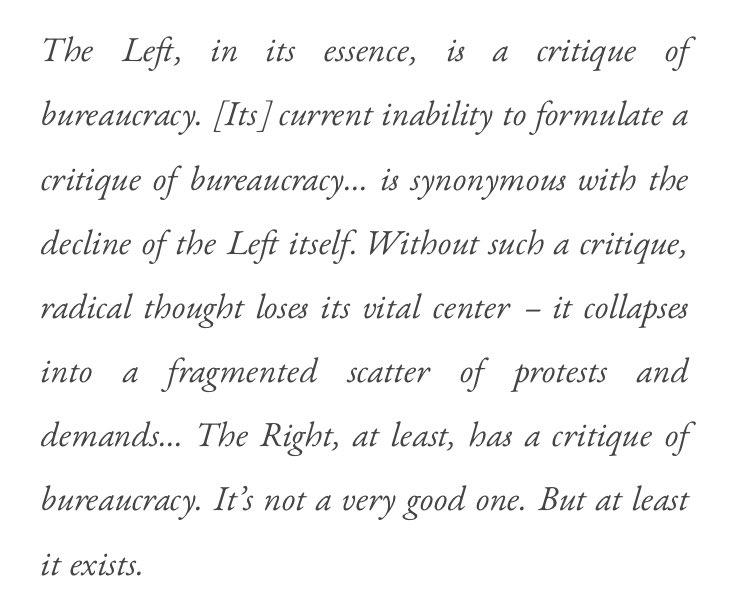 Este párrafo de @curaffairs es una buena reflexión